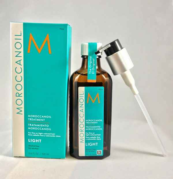 Сравниваем MOROCCANOIL Oil light и 100% натуральное Аргановое масло. -